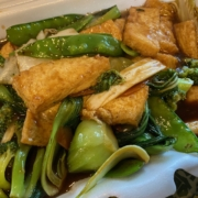 Braised Tofu with Mixed Vegetables